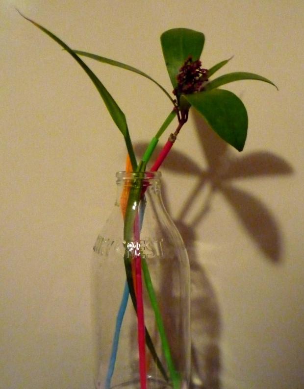 milk-bottle-flower-arrangement