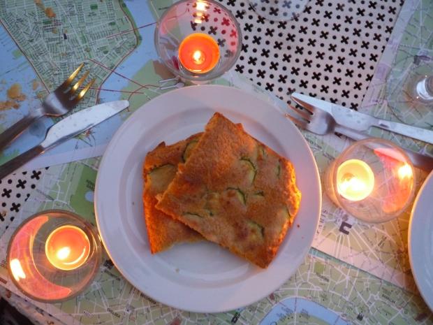 Scarpaccia Viareggina, Tuscan recipe, Italy