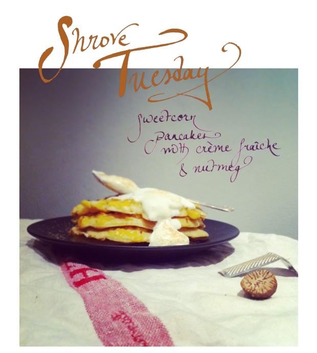 Sweetcorn Pancake