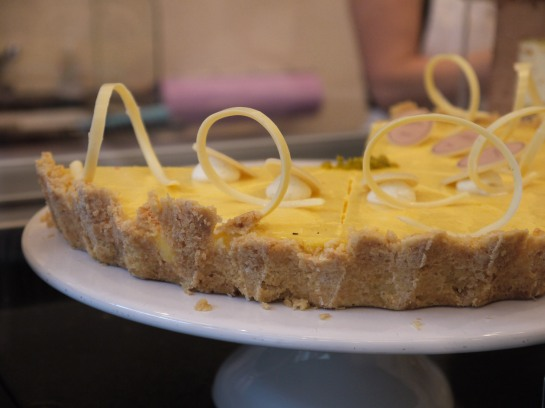 Lemon cheesecake, Princess Cheesecake, Berlin