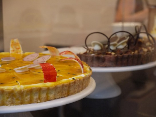 Passion fruit cheesecake, Princess Cheesecake, Berlin