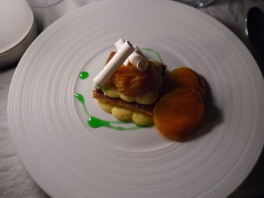 Dessert at L'Artemise, Provence