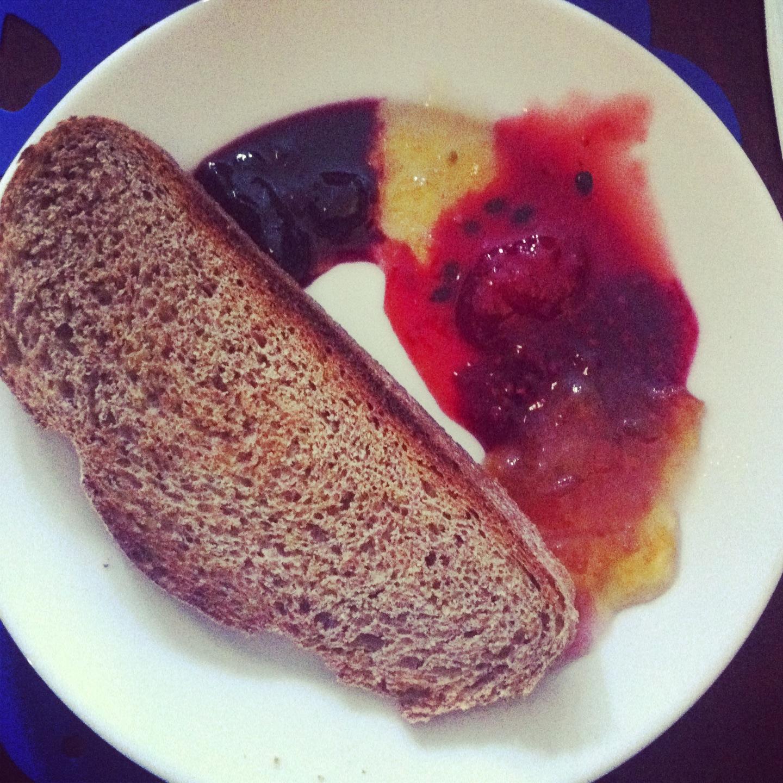 Homemade jam at Venton Vean