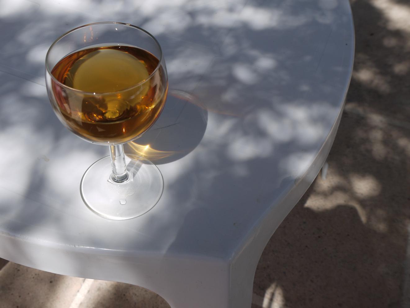 Wine with eau de vie