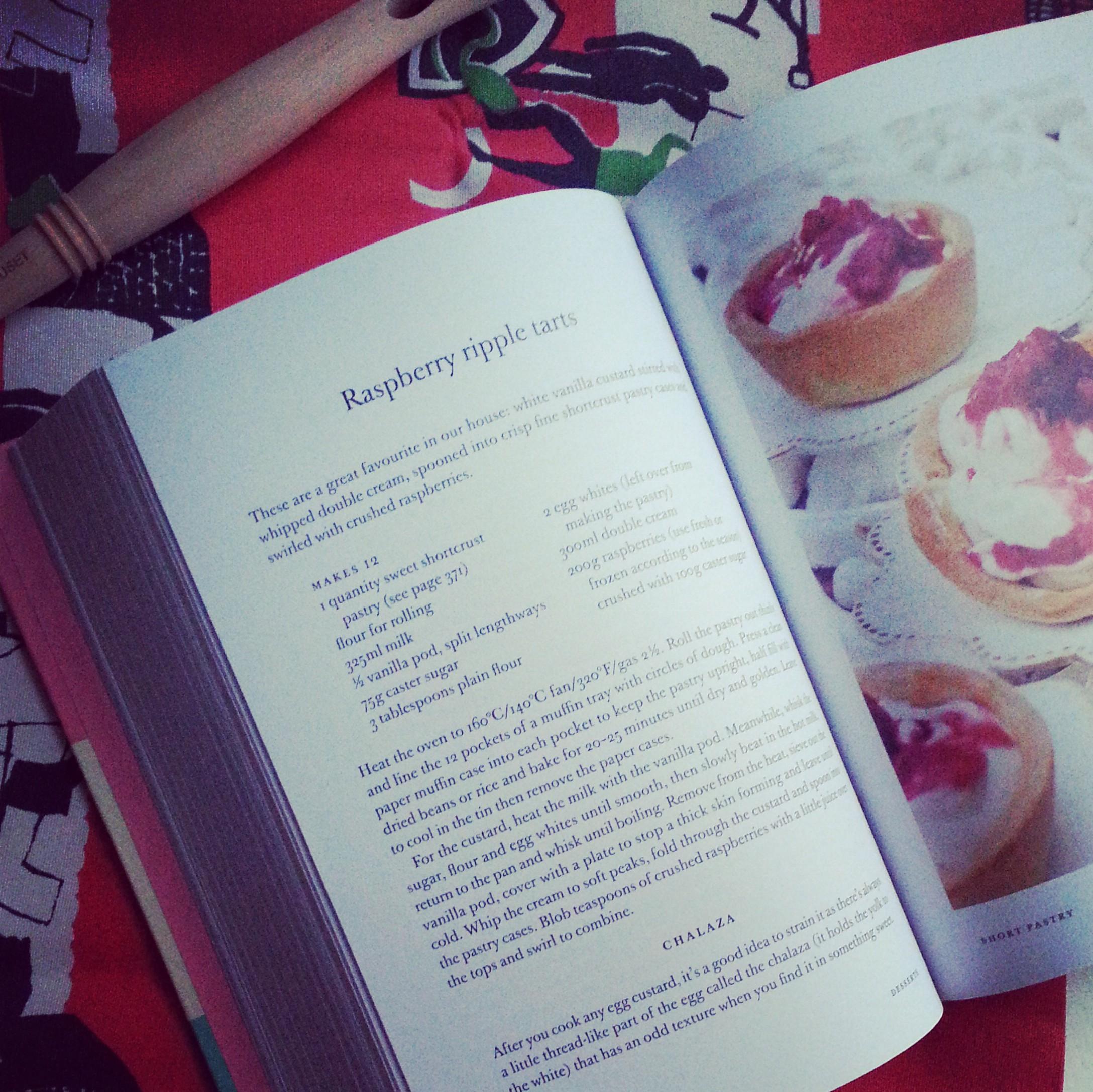 Raspberry Ripple Tarts recipe